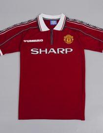 reputable site dfb0c 2b4fb Manchester United 1998-1999 Short-Sleeve