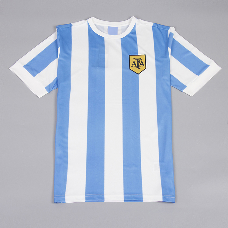 Argentina 1978 World Cup Champs Retro Jersey Free Shipping