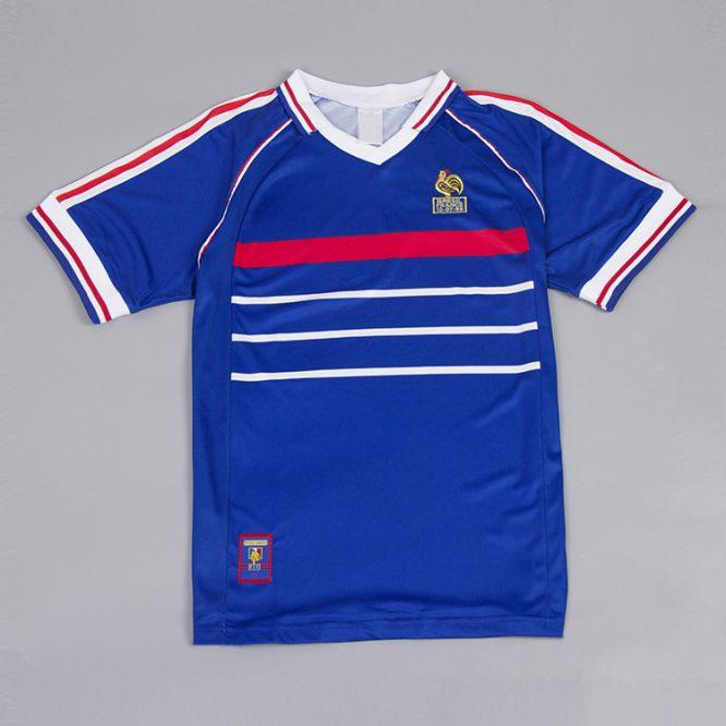 Shirt Front, France 1998 Home Short-Sleeve Kit