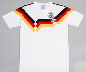 Shirt Front, Germany 1990 Home Short-Sleeve Kit