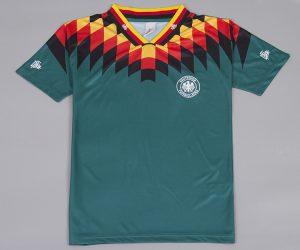 Shirt Front, Germany 1994 Away Short-Sleeve