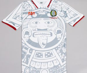 Shirt Front, Mexico 1998 Away Short-Sleeve