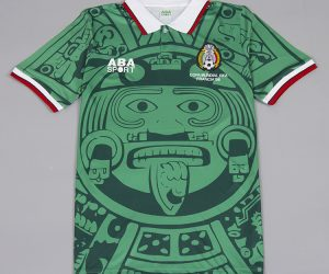 Shirt Front, Mexico 1998 Home Short-Sleeve