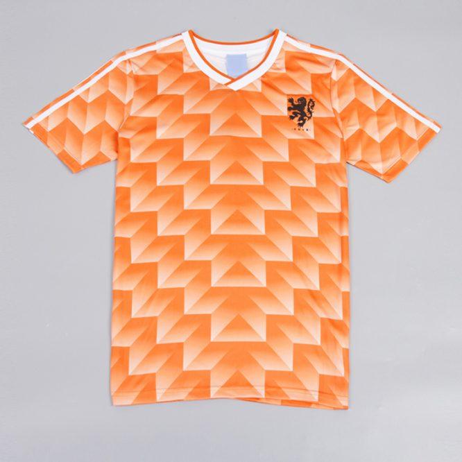 Shirt Front, Netherlands 1988 Euro Short-Sleeve