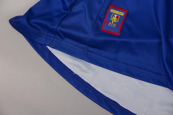 Shirt Opening Alternate, France 1998 Home Short-Sleeve Kit