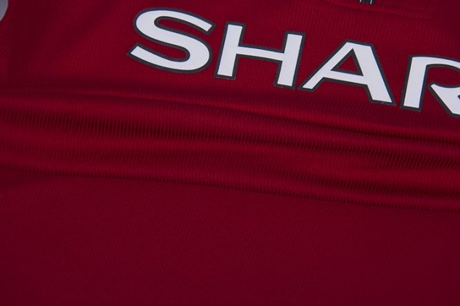 Shirt Texture, Manchester United 1998-99 Short-Sleeve