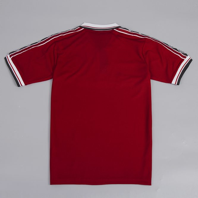 Shirt Back Blank, Manchester United 1998-99 Short-Sleeve