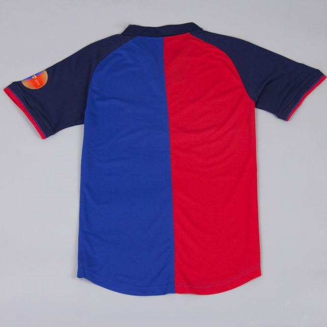 Shirt Back Blank, Barcelona 1999-2000 Home Short-Sleeve Centenary