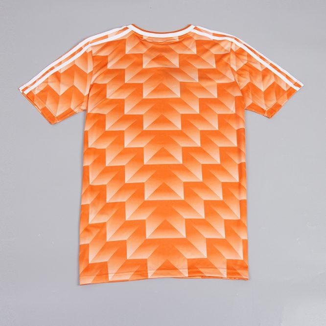 Shirt Back Blank, Netherlands 1988 Euro Short-Sleeve