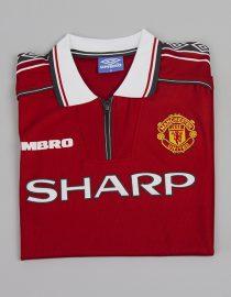 Shirt Front Alternate, Manchester United 1998-99 Short-Sleeve