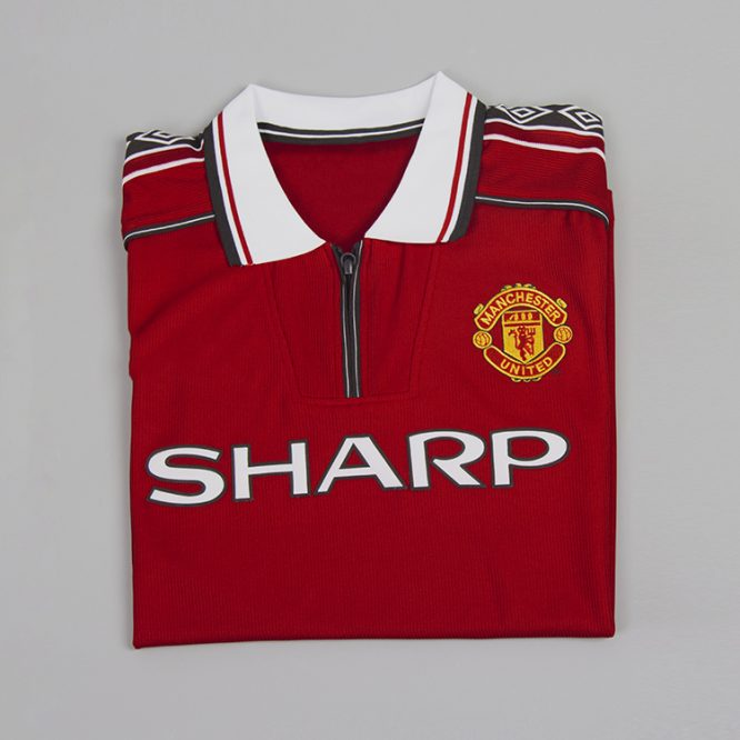 Shirt Front Alternate, Manchester United 1998-2000 Short-Sleeve