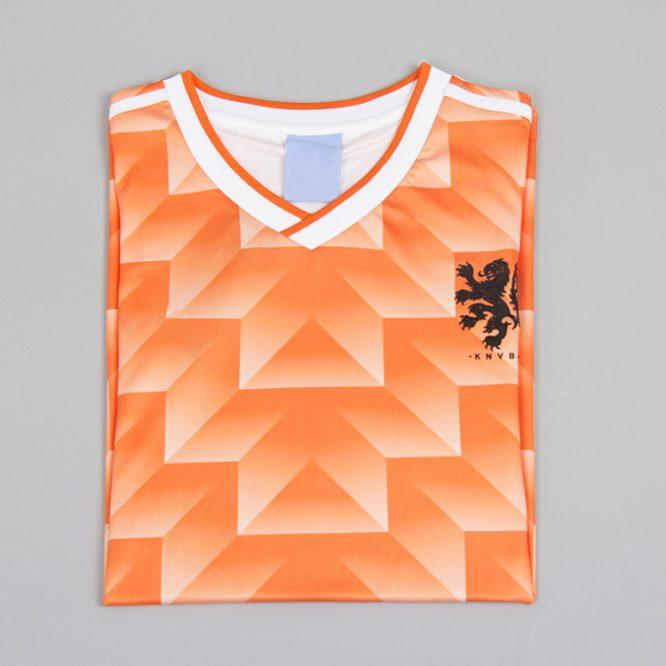 Shirt Front Alternate, Netherlands 1988 Euro Short-Sleeve
