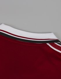 Shirt Collar Back, Manchester United 1998-99 Short-Sleeve