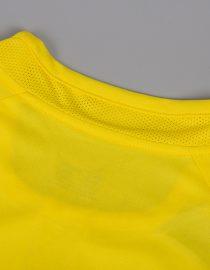 Shirt Collar Back, Brazil 2002 Home World Cup Short-Sleeve Kit