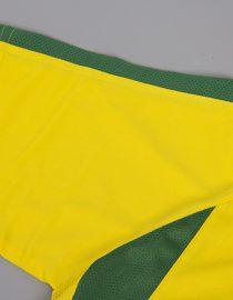 Shirt Sleeve, Brazil 2002 Home World Cup Short-Sleeve Kit