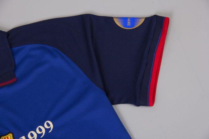 Shirt Sleeve, Barcelona 1999-2000 Home Short-Sleeve Centenary