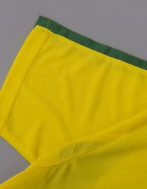 Shirt Sleeve Alternate, Brazil 2002 Home World Cup Short-Sleeve Kit