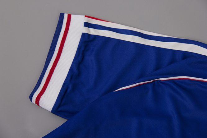 Shirt Sleeve Alternate, France 1998 Home Short-Sleeve Kit