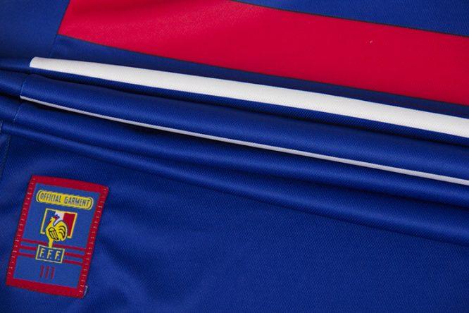 Shirt Mini-Patch, France 1998 Home Short-Sleeve Kit