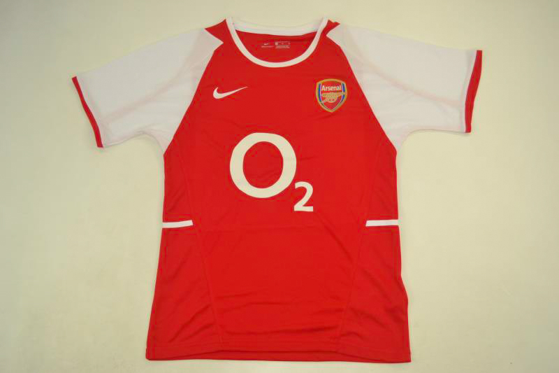 sports shoes 87c5c 3a66d Arsenal 2003-2004 Short Sleeve