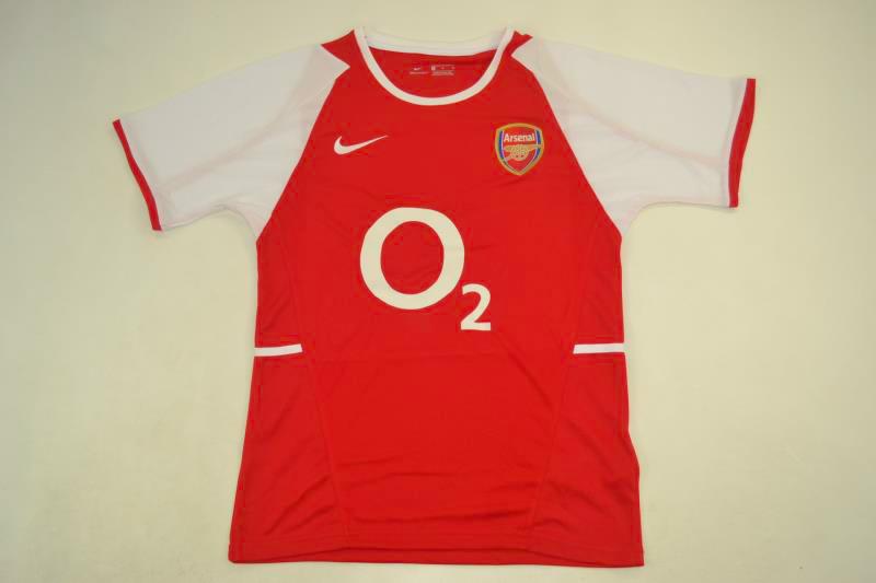 sports shoes 3f37c 95197 Arsenal 2003-2004 Short Sleeve