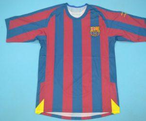 Shirt Front, Barcelona 2005-2006 Champions League Final