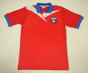 Shirt Front, Chile 1998 World Cup Home