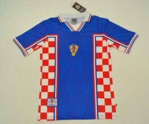 Shirt Front, Croatia 1998 Away
