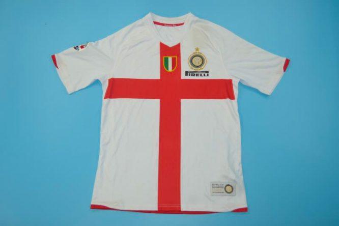 Shirt Front, Inter Milan 2007-2008 Away Centenary Short-Sleeve