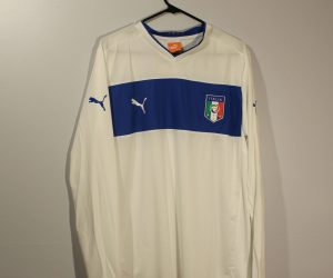 Shirt Front, Itay Euro 2012 Away Long-Sleeve
