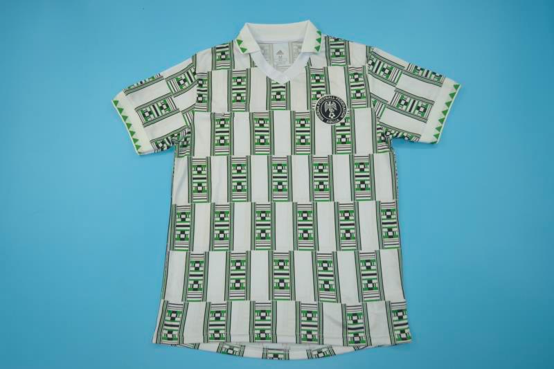 Nigeria 1994 World Cup Away Football Jersey Free Shipping