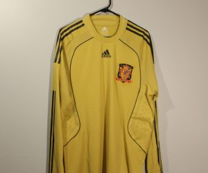 Shirt Front, Spain 2008 Away Player-Issue