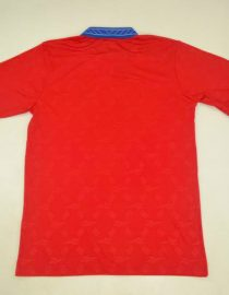 Shirt Back Blank, Chile 1998 World Cup Home