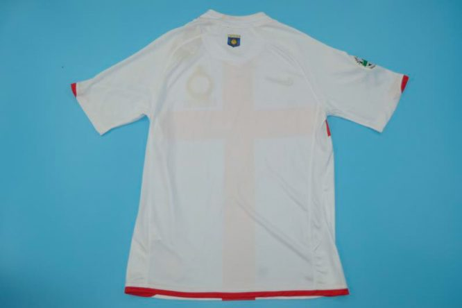 Shirt Back Blank, Inter Milan 2007-2008 Away Centenary Short-Sleeve