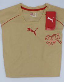Shirt Front Alternate, Switzerland 2006 Gold Third