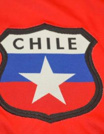 Shirt Chile Emblem, Chile 1998 World Cup Home