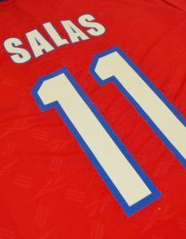 Salas Nameset Alternate, Chile 1998 World Cup Home