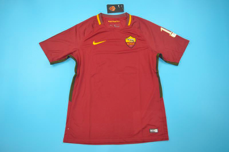 1393f6c7a7a Shirt Front, Roma 2016-2017 Totti Retirement Special Edition