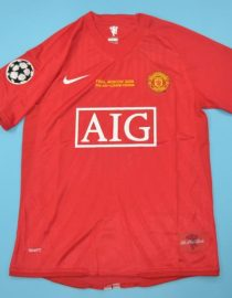 huge selection of dafcc c4f37 Manchester United 2008 Champions League Final Short Sleeve