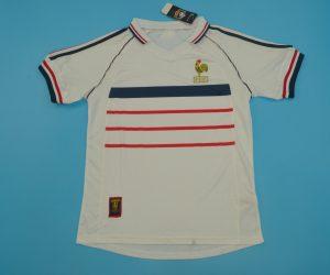 Shirt Front, France 1998 Away