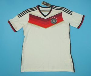 Shirt Front, Germany 2014 World Cup Home