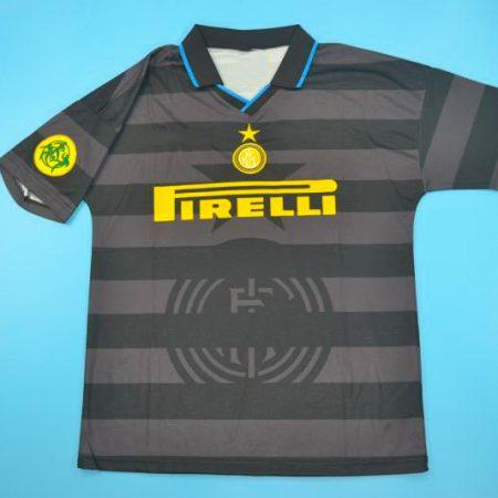 Shirt Front, Inter 1997-1998 Third Short-Sleeve