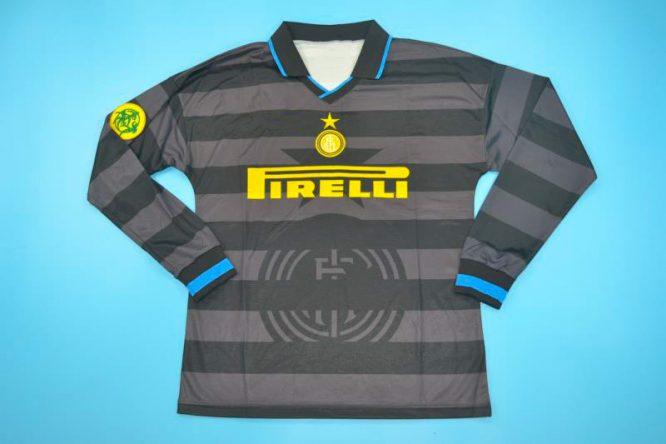 Shirt Front, Inter Milan 1997-1998 Third Long-Sleeve