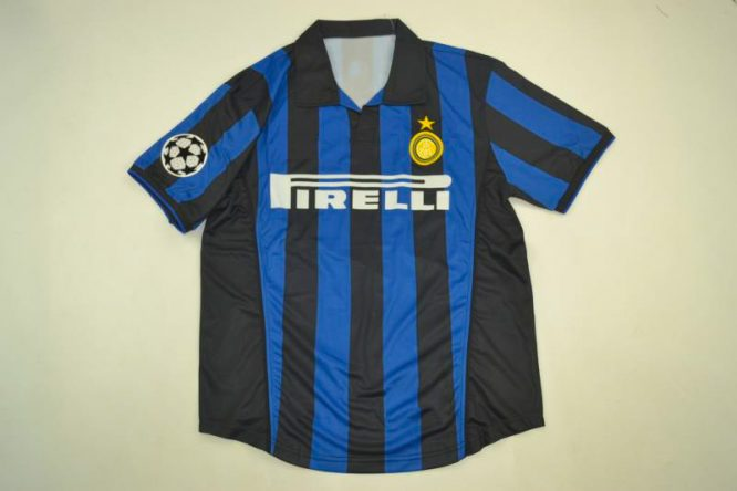 Shirt Front, Inter Milan 1998-1999 Home Short-Sleeve