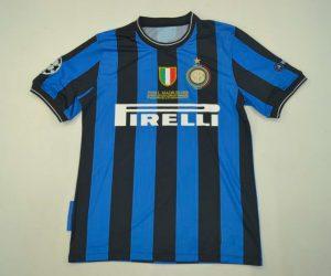 Shirt Front, Inter Milan 2010 Champions League Final Short-Sleeve