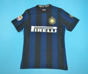 Shirt Front, Inter Milan 2013-2014 Zanetti Retirement
