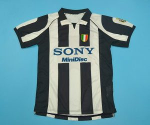 Shirt Front, Juventus 1997-1998 Home Short-Sleeve