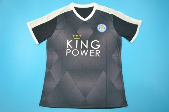 Shirt Front, Leicester City 2015-2016 Away