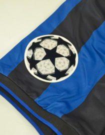 Shirt Champions League Patch, Inter Milan 1998-1999 Home Short-Sleeve