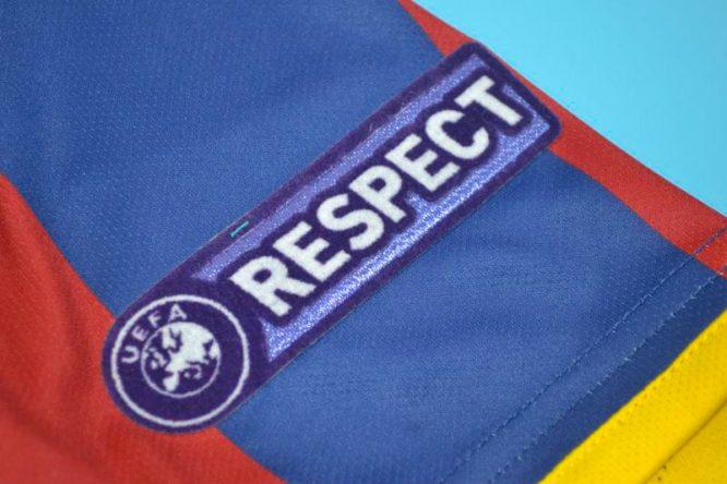 Shirt Respect Patch, Barcelona 2010-2011 Champions League Final